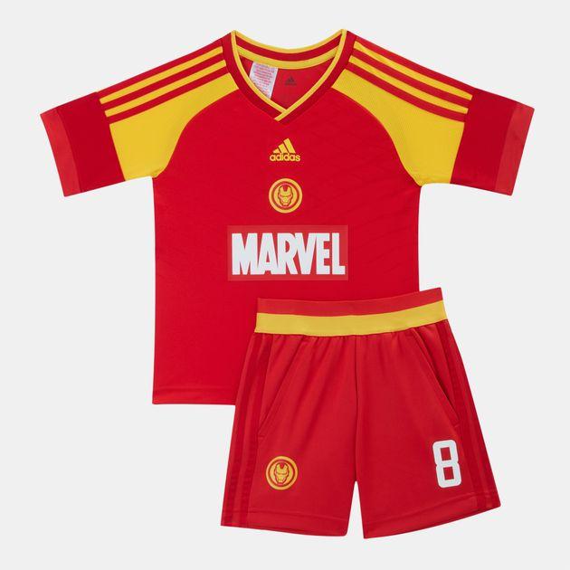 3cf9d2872ef8 adidas Kids  Marvel Iron Man Football Set