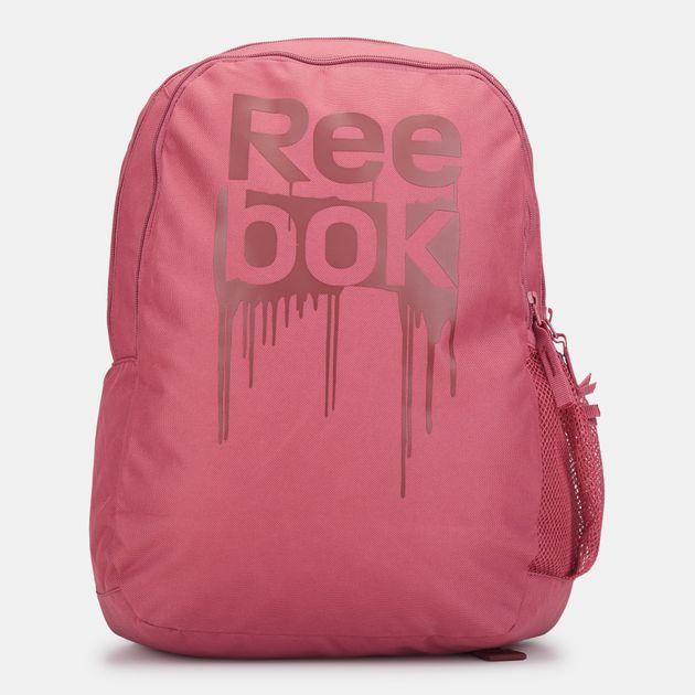 Shop Red Reebok Kids  Foundation Backpack