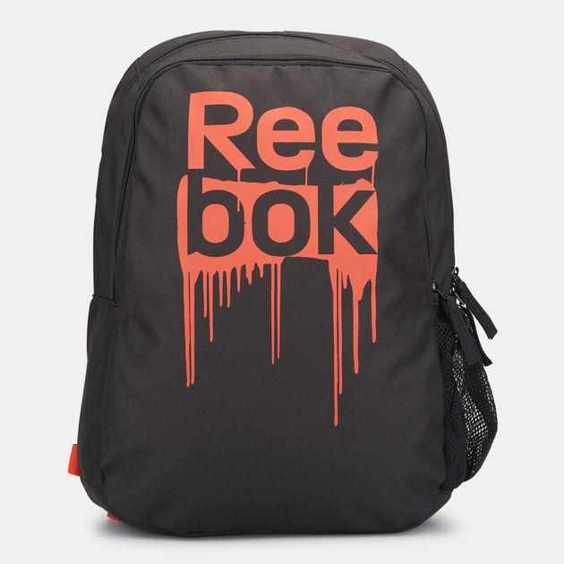 Shop Orange Reebok Kids  Foundation Backpack