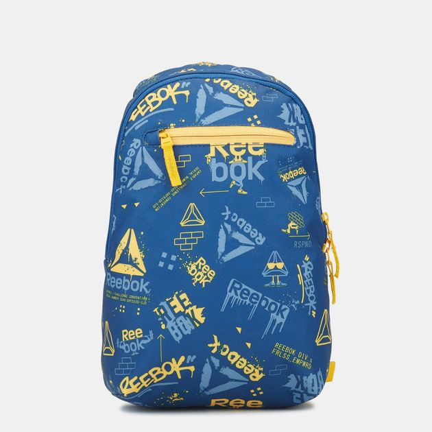 Reebok Kids  Small Graphic Backpack - Blue
