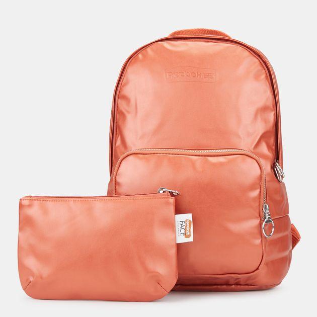b68d3a5598681 حقيبة الظهر كلاسيك فريستايل فيس كولابريشن من ريبوك - برتقالي