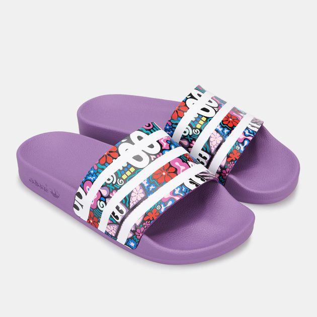 adidas Originals Women's Adilette Hattie Stewart Slides