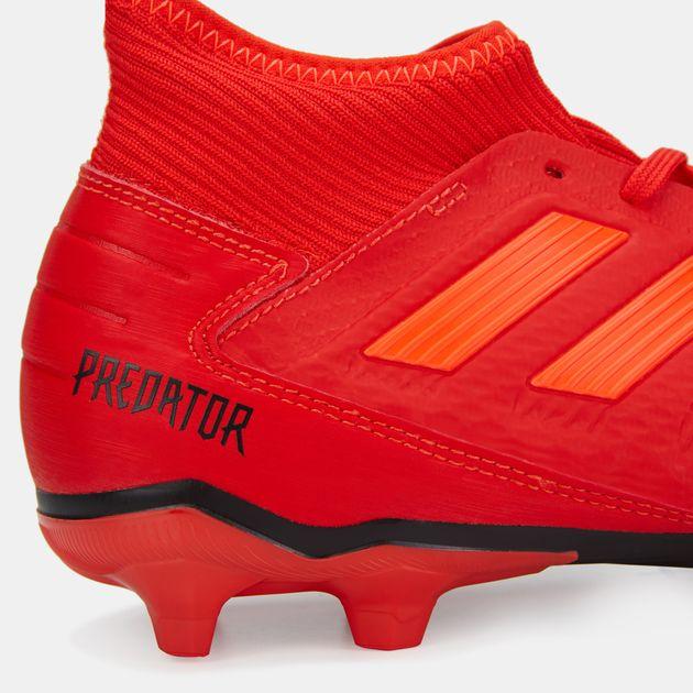 cae6319c8f99f7 adidas Men s Initiator Pack Predator 19.3 Firm Ground Football Shoe ...