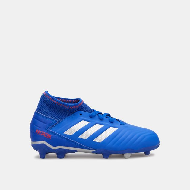 bc1b89b261b6 adidas Kids  Exhibit Pack Predator 19.3 Firm Ground Football Shoe (Younger  Kids)