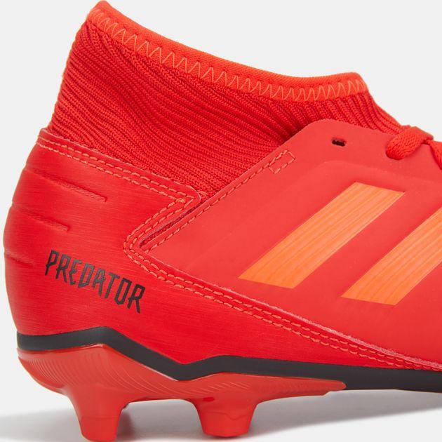 5e65d60bd60a adidas Kids  Initiator Pack Predator 19.3 Firm Ground Football Shoe ...