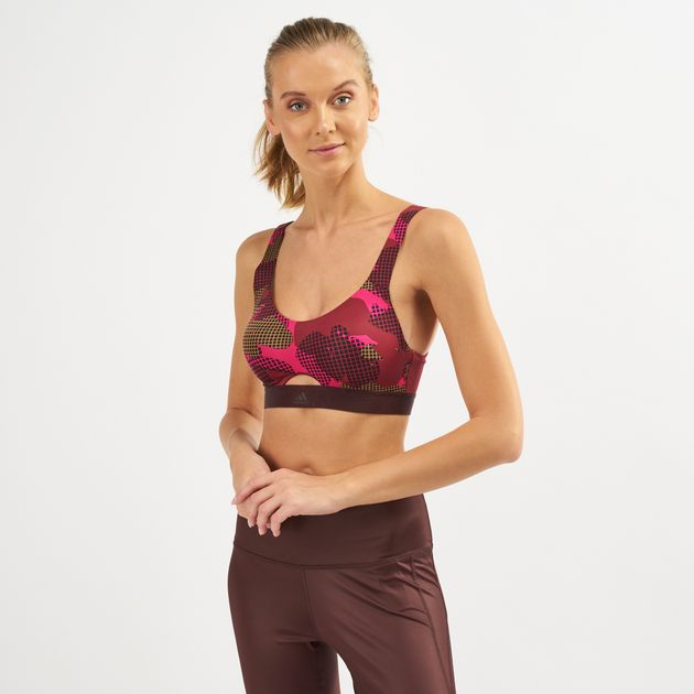 80a862244f Adidas Stronger For It Soft Printed Sports Bra | Sports Bra ...