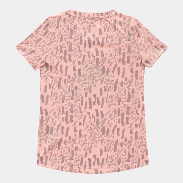 b50e73c2620 adidas Kids' Badge Of Sport T-Shirt (Little Girls)   T-Shirts   Tops ...
