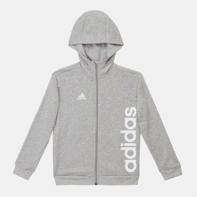 adidas Kids' Full Zip Hoodie