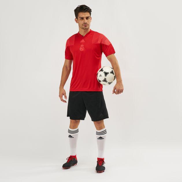 san francisco cecfd 40b8a adidas Real Madrid Icon Football T-Shirt | T-Shirts | Tops ...
