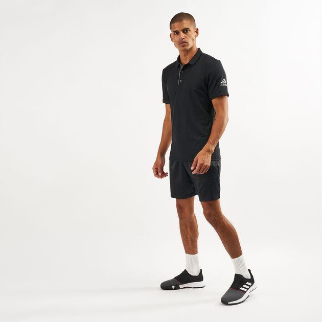 adidas Men s Matchcode Tennis Polo Shirt  7eb8ba44995a4
