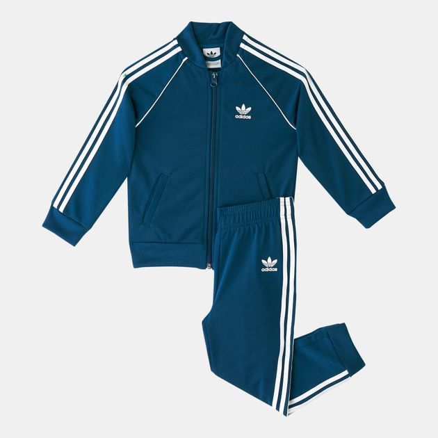 72ec016a331f adidas Originals Kids  SST Track Suit (Baby and Toddler ...