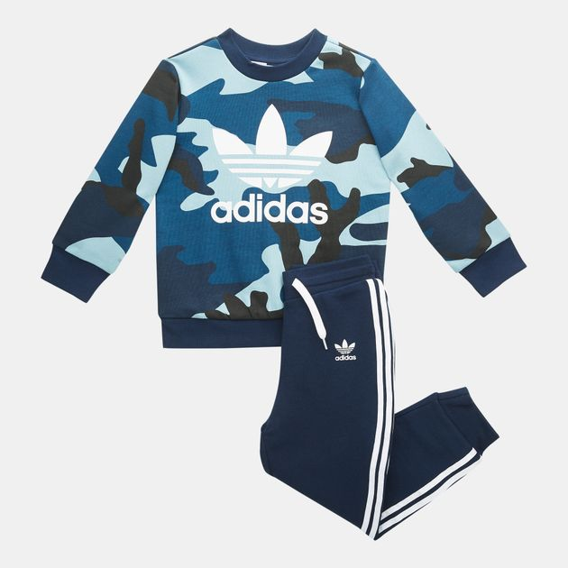 3d4481c1 adidas Originals Kids' Camouflage Sweatshirt And Pants Set (Baby and  Toddler), 1594009