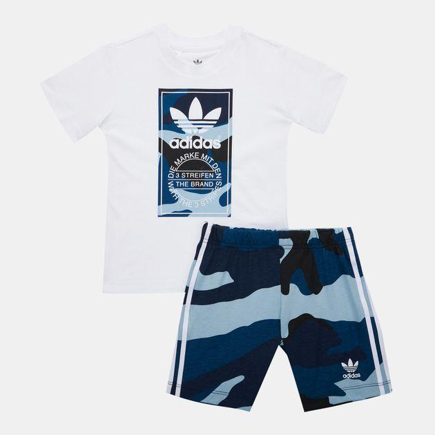 3bb8cc1d adidas Originals Kids' Camouflage T-Shirt Set (Baby and Toddler), 1578464