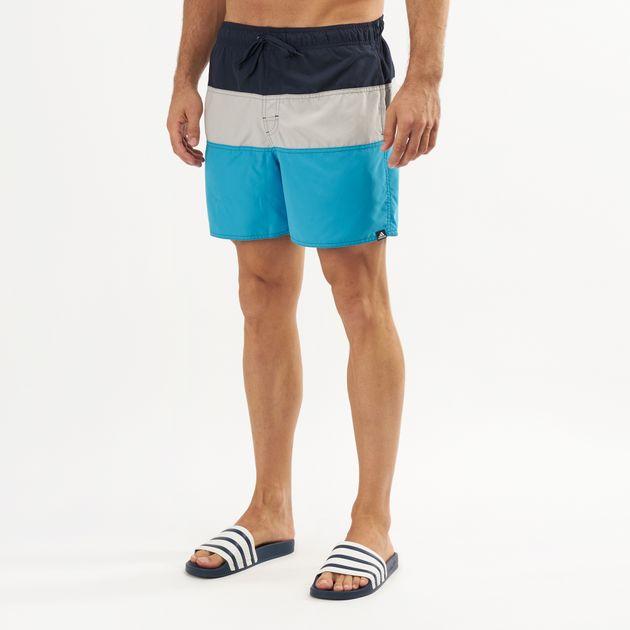 8603b49ff2 Adidas Men's Colourblock Swim Shorts | Swimming Shorts | Swimwear ...