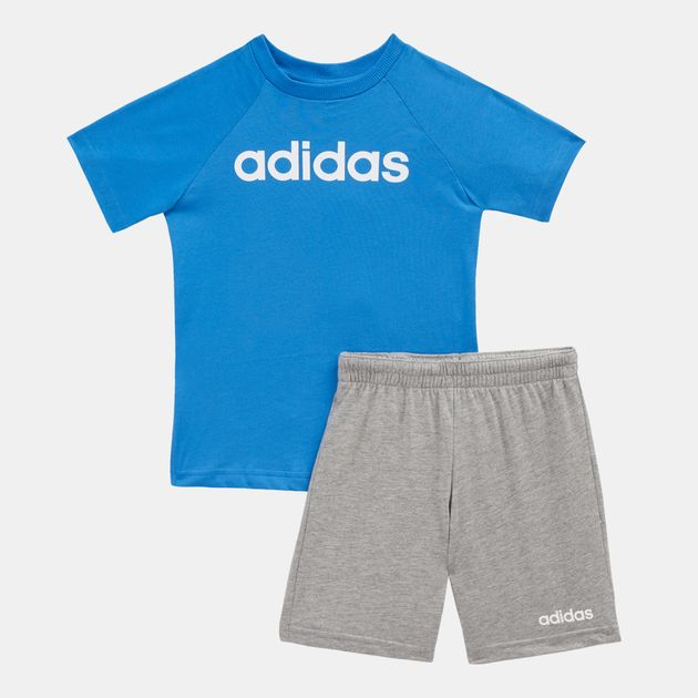 7f83a4a7bf5e adidas Kids  Linear Summer Set (Baby   Toddler)
