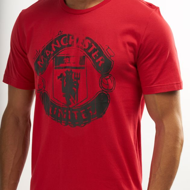 Adidas Men S Manchester United Dna Graphic T Shirt