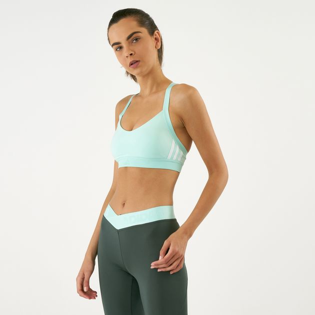 0591fb35a1 adidas Women s All Me 3-Stripes Sports Bra