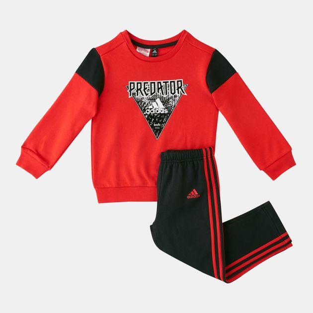 fcfce0df8114 adidas Kids  Mini-Me Jogger Set (Baby and Toddler)