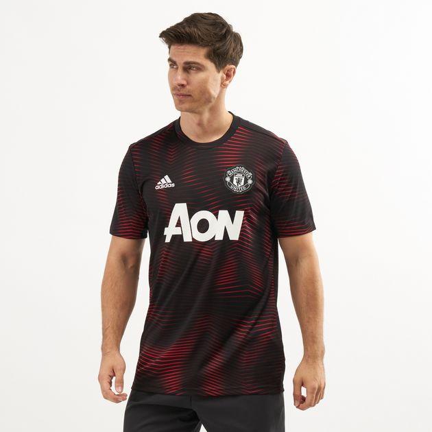 0a266f58 adidas Men's Manchester United Home Pre-Match Jersey | Jerseys ...