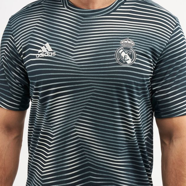 21baf000b adidas Men's Real Madrid Pre-Match Jersey   Jerseys   Tops ...