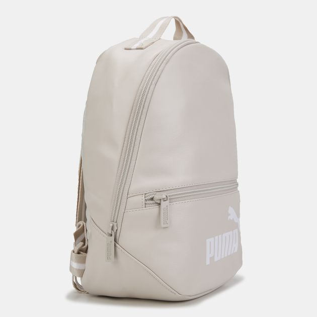PUMA Women s Core Up Archive Backpack - Grey 19bd178189634