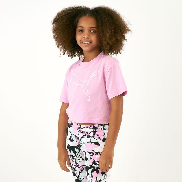 32e9e65db تيشيرت إيفوسترايب من بوما للاطفال الكبار | تيشرتات للاطفال | قمصان ...