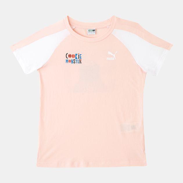b878fd14b5ab PUMA Kids  x Sesame Street T-Shirt (Younger Kids)