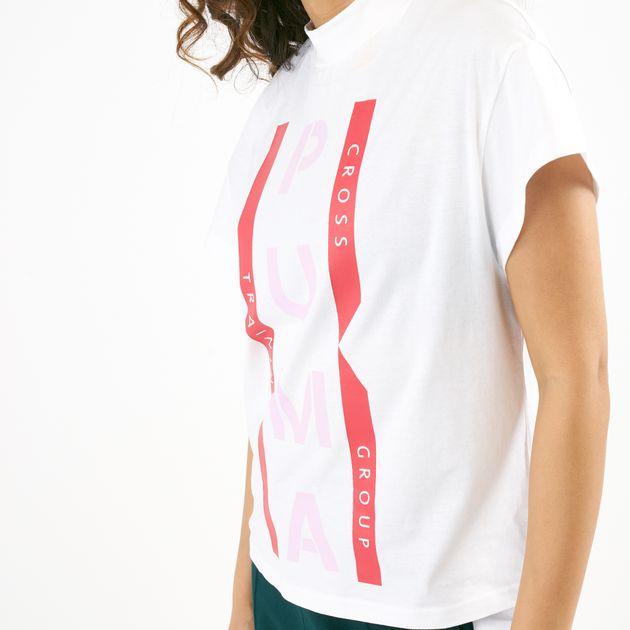 bcbebc88c9 PUMA Women's XTG Graphic T-Shirt