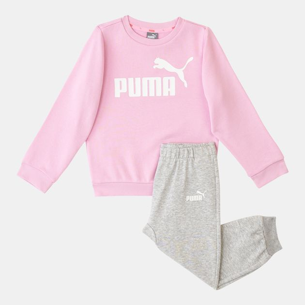 46b162a1b3 PUMA Kids' Minicats Essential Jogger Set (Infant & Toddlers)