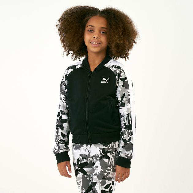 e8e5811e6ecd PUMA Kids  Classics T7 All Over Print Jacket (Older Kids ...