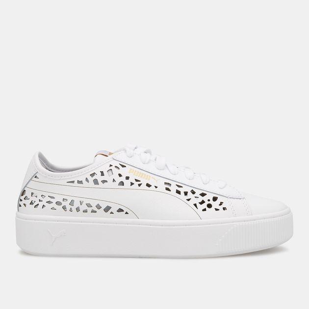 d470763d9ca1a PUMA Women's Vikky Stacked Laser-Cut Shoe | Sneakers | Shoes ...