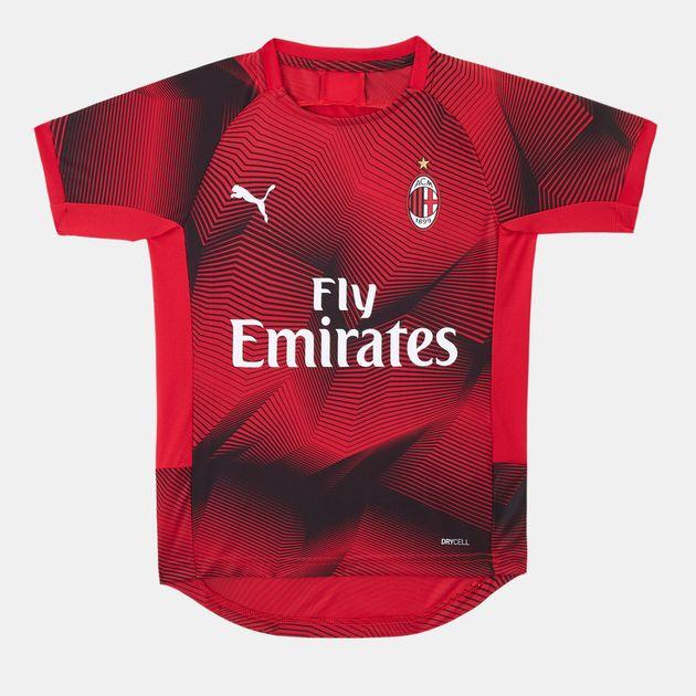 new style 5bde3 76d03 PUMA Kids' AC Milan Stadium Graphic Jersey (Older Kids)