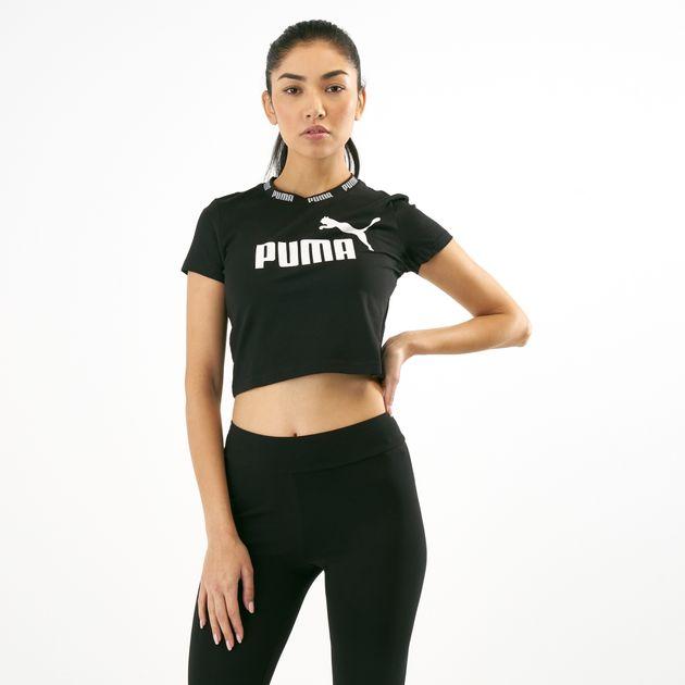 0a70ec7ada2d2 PUMA Women s Amplified Cropped T-Shirt