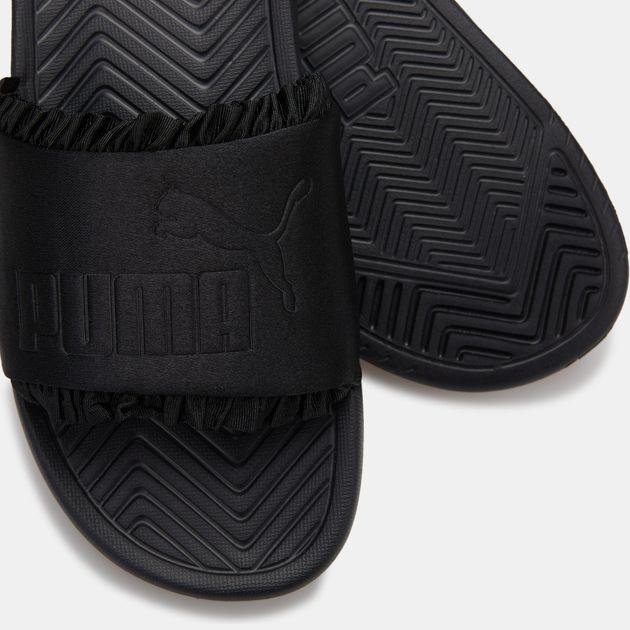 b498e0e8ef PUMA Women's Popcat Silk Slides | Sandals | Sandals and Flip-Flops ...