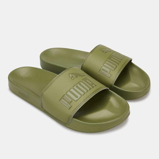 1b2ebedae77 PUMA Men s Leadcat Slide Sandals