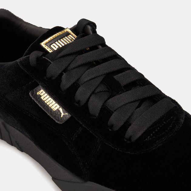 e03a3ab402890 PUMA Women's Cali Velvet Shoe   Sneakers   Shoes   Women's Sale ...