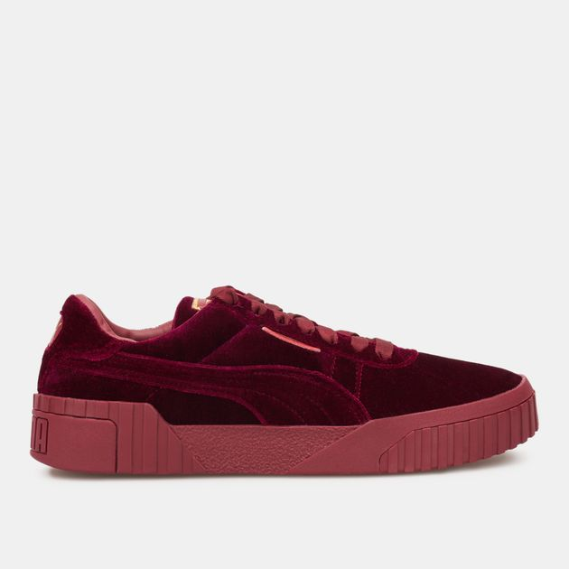b245ccfd3fe22 PUMA Women's Cali Velvet Shoe   Sneakers   Shoes   Sports Fashion ...