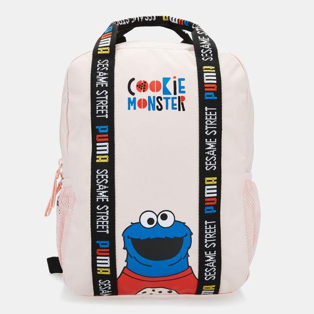 76c9e3b40841ba PUMA Kids  x Sesame Street Backpack (Older Kids) - Pink