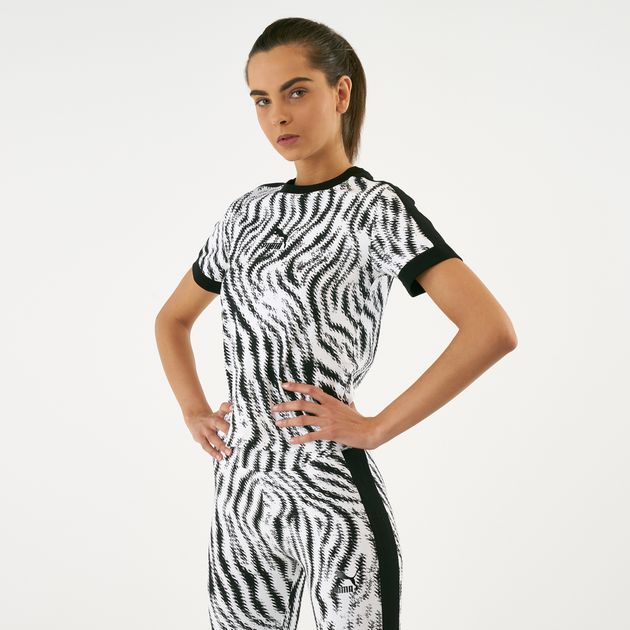 61618c66c68 PUMA Women's Wild Pack All Over Print T-Shirt | T-Shirts | Tops ...