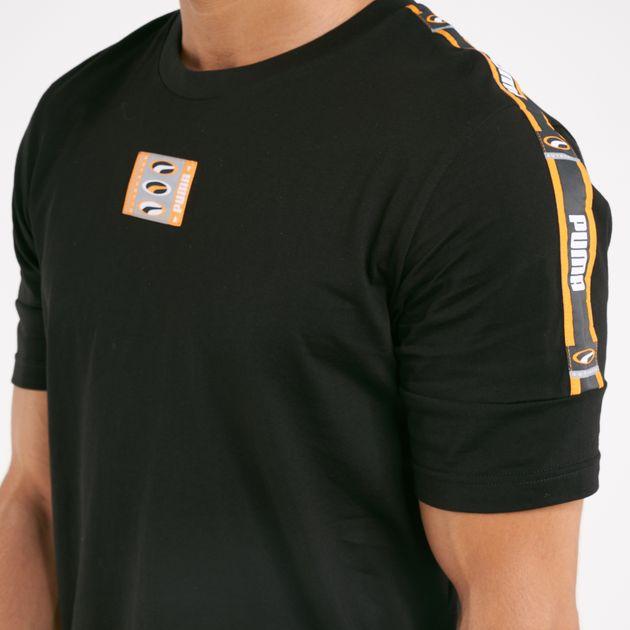 competitive price 526d5 50bcd PUMA Men's 90s Retro Tape T-Shirt