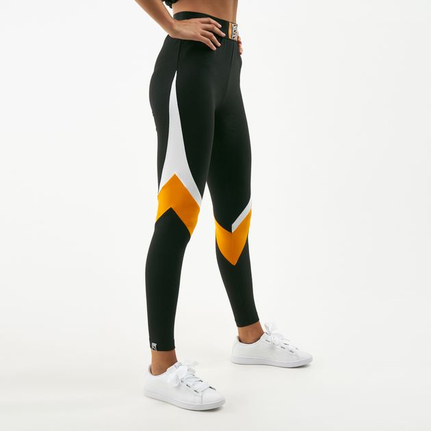 cf93a51053b1f8 PUMA Women's 90s Retro Leggings | Full Length Leggings | Leggings ...