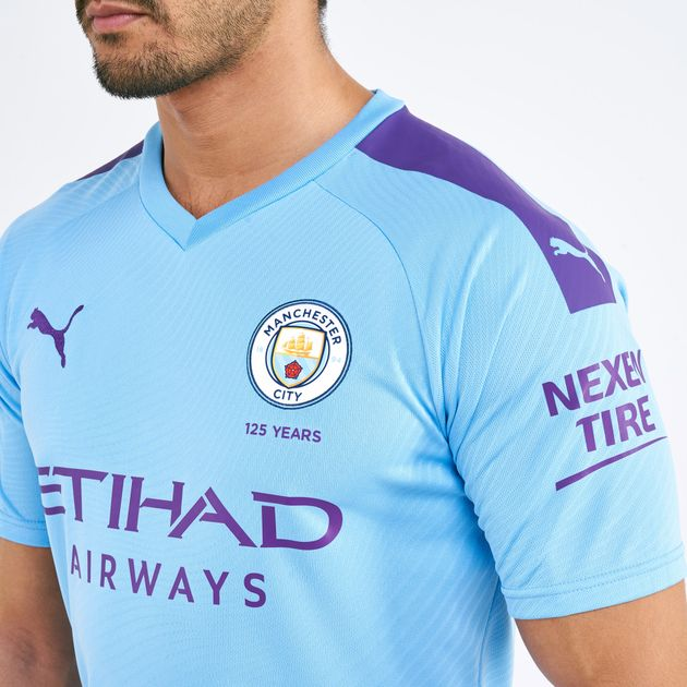separation shoes c4ed8 52b8a PUMA Men's Manchester City Home Replica Jersey - 2019/20
