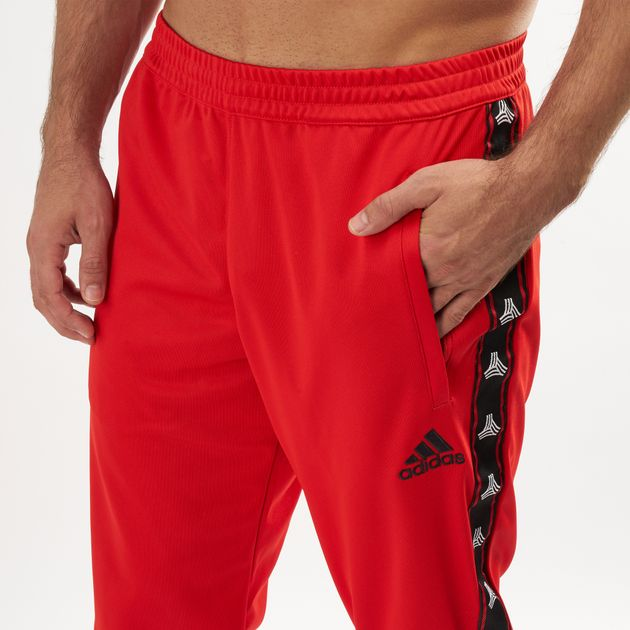 ddbb30bf08 adidas Men's Tan Tape Clubhouse Pants