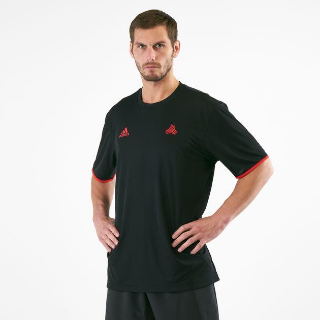 pretty nice faffc c9a2d adidas Men's Tan Reversible Football Jersey
