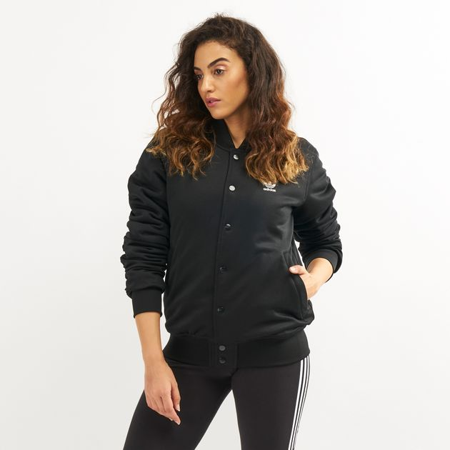 43863d1862d4d adidas Originals Women's Styling Complements Bomber Jacket, 1461096