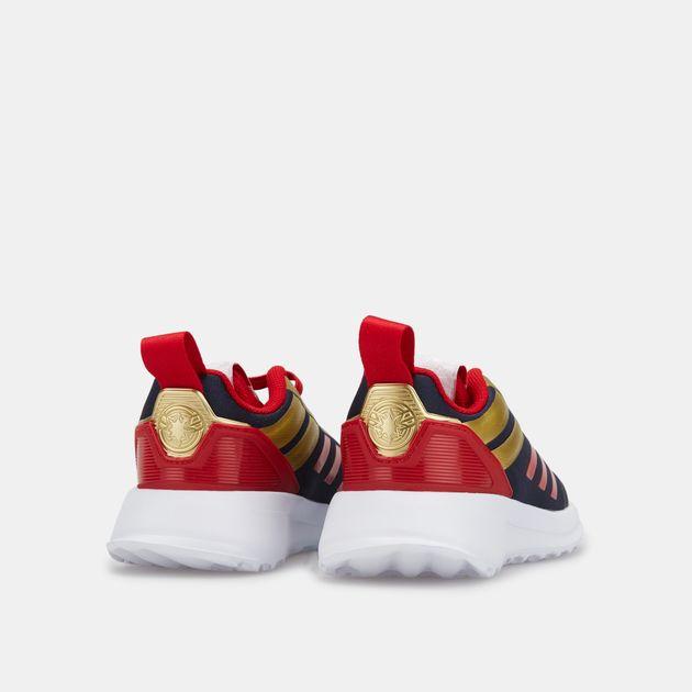 adidas Kids' Marvel Captain Marvel RapidaRun Shoe (Baby and Toddler)