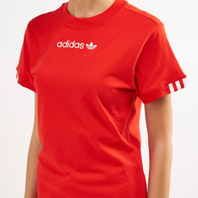 2e5ce972ff9 adidas Originals Women's Coeeze T-Shirt | T-Shirts | Tops | Clothing ...