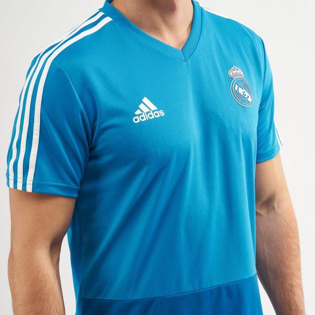 9ff6c7f9c ... real madrid training jersey adidas ...