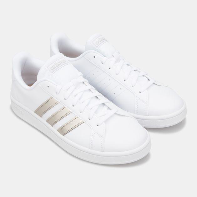 adidas Originals Women's Grand Court Base Shoe | Sneakers