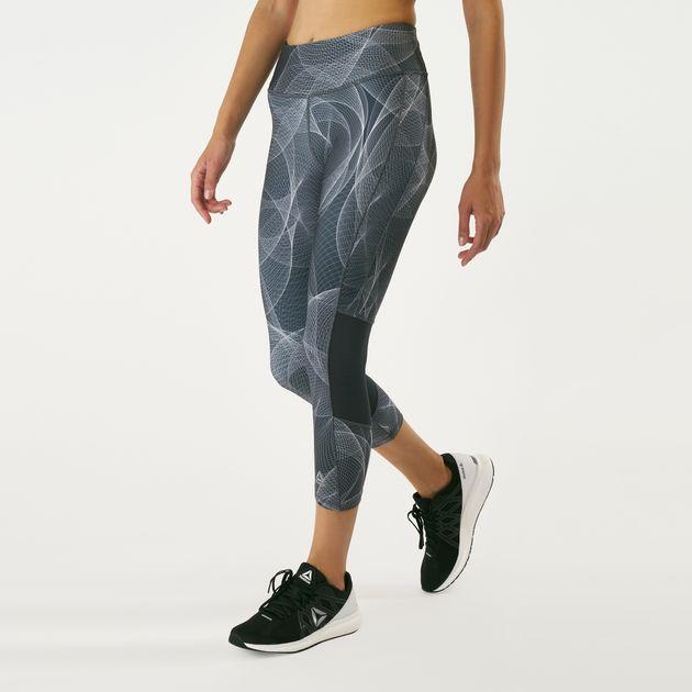 kup tanio moda designerska więcej zdjęć Reebok Women's OSR 3/4 Leggings